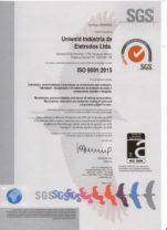 eletrodo de solda Uniweld Certificado ISO 2015 e1566942917939